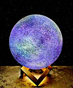 Galaxy moon lamps-2