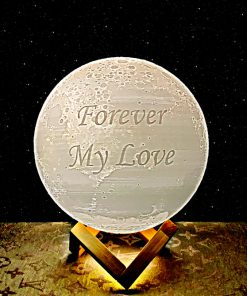 Gift for men gift for women moon lamp forever my love