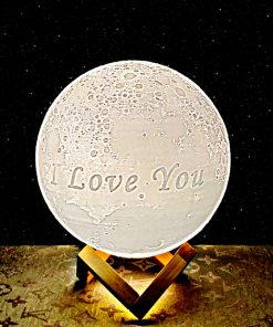 I love you moon lamps